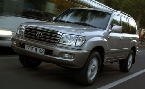 Динамика Toyota Land Cruiser