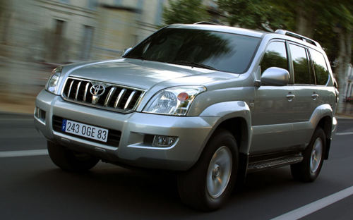 Дизайн Toyota Land Cruiser Prado