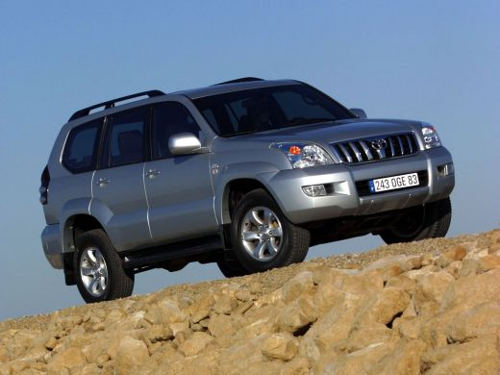 Полный привод Toyota Land Cruiser Prado
